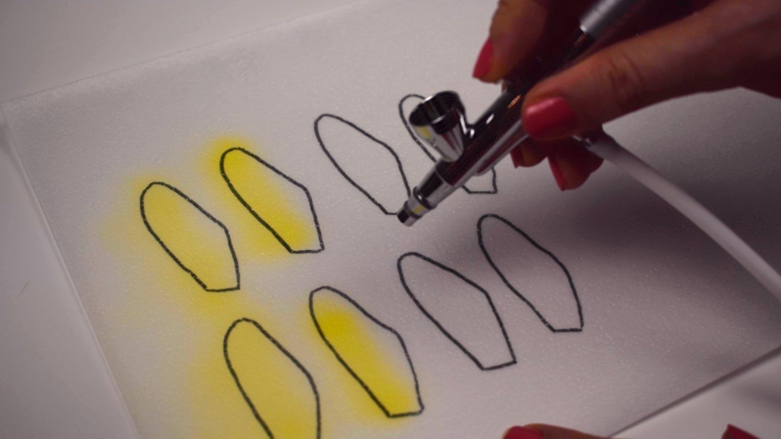 Drawing firefly wings